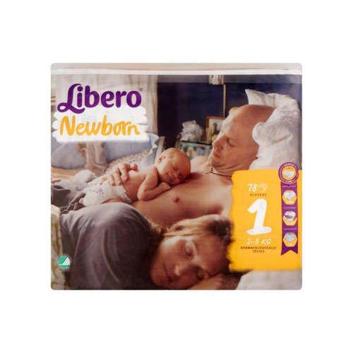 Libero Newborn Pelenka 2-5kg (78db)