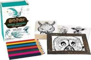 Harry Potter: Magical Creatures Coloring Kit 30339448