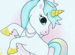 Unicorn Queen Babatakaró 70x90cm 30479769