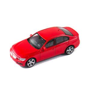 Welly BMW 335i Autómodell 1:43 #piros 30478261 Modell, makett