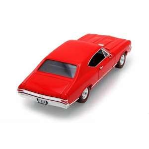 Welly Chevrolet Chevelle SS 396 1968 Autómodell 1:24 #piros 30477494 Modell, makett