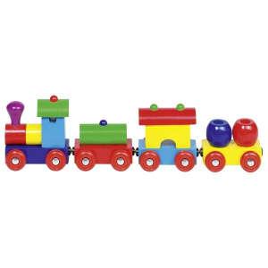 Mágneses Vonat fából 30994124 Vonat, vasúti elem, autópálya