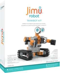 JIMU TANKBOT Robot Építő Készlet 30404589 Tudományos és felfedező játék
