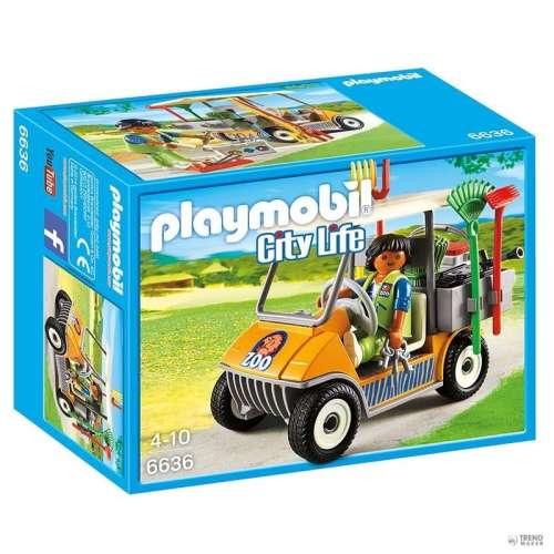 Playmobil Állatkerti takaritó autó