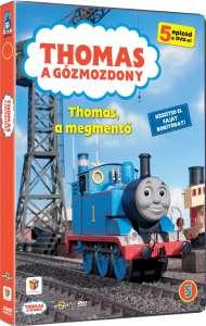 Thomas, a gőzmozdony - Thomas, a megmentő - DVD 30341121 Gyermek könyv
