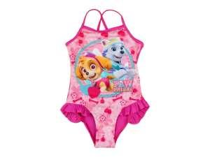 Lányka Fürdőruha - Mancs őrjárat #rózsaszín 30481534