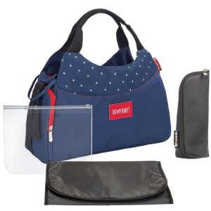 Badabulle Pelenkázó táska Multipocket #sötétkék 30341491