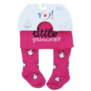 5089634f0e Yo! Baby pamut Harisnyanadrág lány (56-62) #pink little princess 30341541