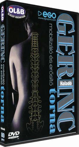 Gerinctorna - haladó - DVD