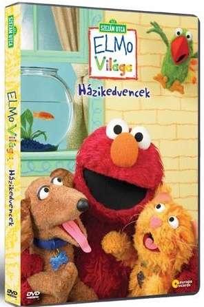 Szezám utca - Elmo Házikedvencek - DVD