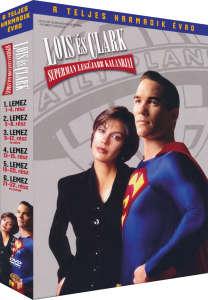 Lois és Clark - Superman legújabb kalandjai 3. évad - DVD 30341657 CD, DVD