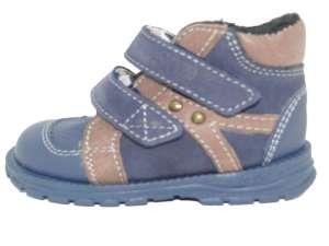 Supykids Hugo bélelt supinált Gyerekcipő #kék-barna 30341688