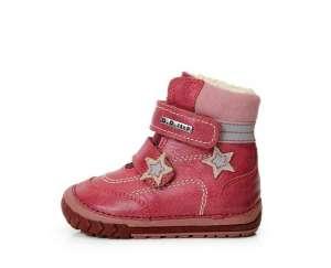 D.D.Step bundás Bakancs #piros 19-24 30342083 Magasszárú gyerekcipő, bakancs