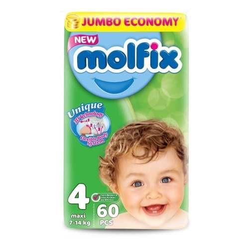 Molfix Jumbo Pelenka 4 (60db)