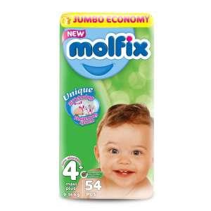 Molfix Jumbo Pelenka 4 (54db) 30346985