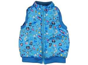 Disney fiú Mellény - Mickey Mouse #kék 30378186 Gyerek mellény