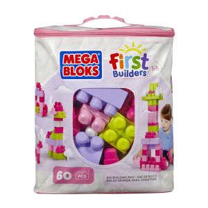 Mega Bloks nagy lányos Építő csomag 60db 30343479 Fa építőjáték