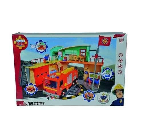 Sam a tűzoltó - Körmöspálcás tűzoltóállomás
