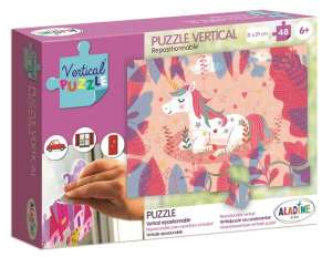 Aladine - Vertikális Puzzle - Unikornis 30404046