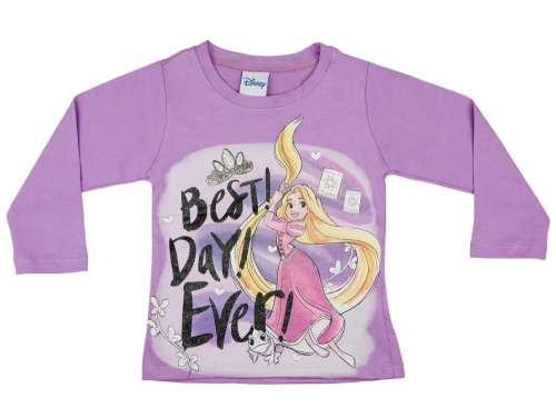 c32c48030e Disney Hosszú ujjú póló - Aranyhaj #lila   Pepita.hu