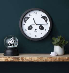 A Little Lovely Company -  Falióra, Panda 30485972 Falióra, ébresztőóra