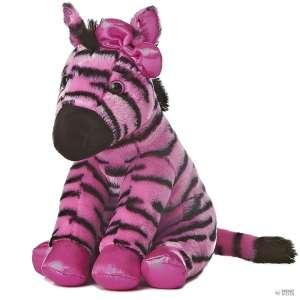 Zebra Plüss 32cm #rózsaszín  30345114