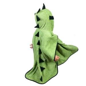 Fürdőponcsó - Sárkány #zöld