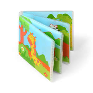 BabyOno Fürdőkönyv 15x15cm - Vadállatok 30345741