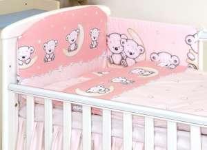 MamaKiddies Baby Bear 5 részes ágynemű #rózsaszín macis 30345807