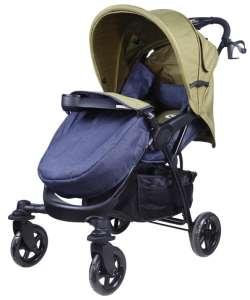MamaKiddies Light4 Go Sport Babakocsi #kék-zöld