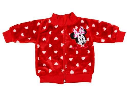Wellsoft Kardigán - Minnie Mouse #piros