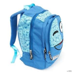 Spirit - Emoji  Iskolatáska #kék 30346444