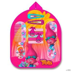 Trollok 12db-os frizurakészítő szett #rózsaszín 30346458