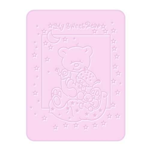 Bobobaby Pléd 80x110 cm #rózsaszín