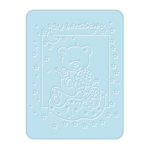 Bobobaby Pléd 80x110 cm #kék