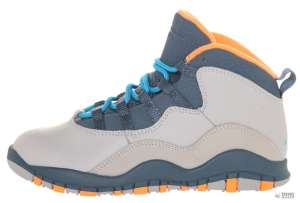 Nike Gyerek Edzőcipő Jordan 10 (34) #kék-szürke-narancs 30346865