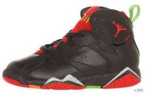Nike Gyerek Edzőcipő Jordan 7 Retro BP (28) #fekete-piros 30346877