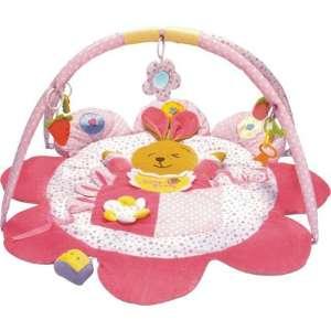 Baby Mix Játszószőnyeg - Nyuszika #rózsaszín  30347159 Bébitornázó és játszószőnyeg