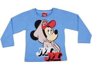 298e2526ba Disney Hosszú ujjú póló - Mickey Mouse #kék 30488441 Gyerek hosszú ujjú póló
