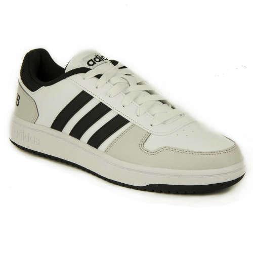 Adidas Hoops 2.0 Férfi Sportcipő  fehér-fekete. Mérete  40 2 3  41 1 3 b60fac26fa