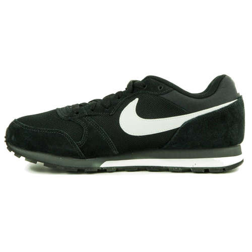 Nike MD Runner 2 Férfi Utcai Cipő  fekete-fehér  6c4254f6fa