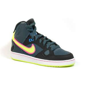 Nike Son Of Force Mid Gs Junior Fiú Utcai Cipő #szürke-fekete-neon 30354103