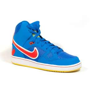 Nike Son Of Force Mid Gs Junior Fiú Utcai Cipő #kék-narancs 30354167