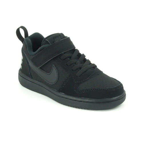 Nike Court Borough Low Psv fiú Sportcipő  fekete  460b5578a6