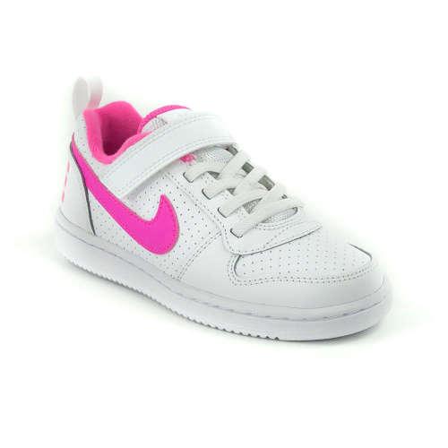 Nike Court Borough Low Psv lány Sportcipő  fehér-rózsaszín  4bf9ffd640