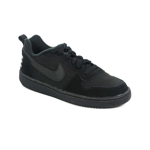 Nike Court Borough Low Gs junior fiú Utcai Cipő  fekete  00568e807a