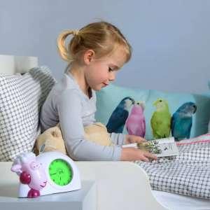 Sam - Ébresztőóra (sleeptrainer) és éjjeli fény #lila 30489900 Falióra, ébresztőóra