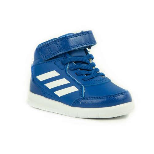 Adidas Alta Sport Mid EL Baby Fiú Száras Sportcipő  kék-fehér ... 3825146bdc