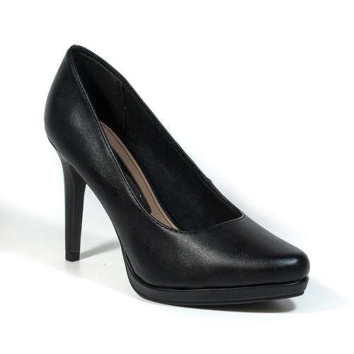 Tamaris Női Alkalmi Cipő platform  fekete  1ede205424