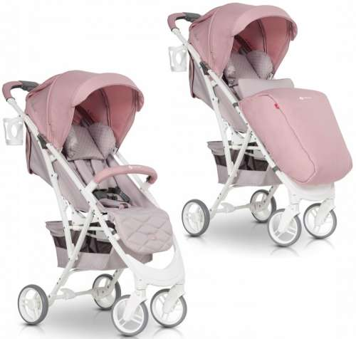Euro-Cart Volt sport Babakocsi  rózsaszín  0175da4eee